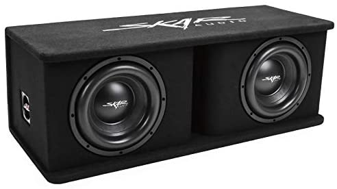 Read more about the article Skar Audio Dual 10″ 2400W Loaded Sdr Series Vented Subwoofer Enclosure | SDR-2X10D4, Dual 10″ D4 Loaded Enclosure