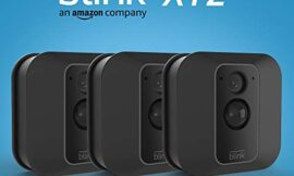 Blink XT2 Outdoor/Indoor Smart Security Camera with cloud storage included, 2-way audio, 2-year battery life – 3 camera kit