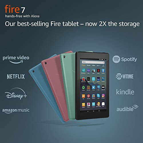 Fire 7 Tablet (7″ display, 16 GB) – Plum