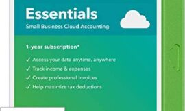 QuickBooks Online Essentials 2020 Online Accounting Software for Small Business – 3 User [Online Access]
