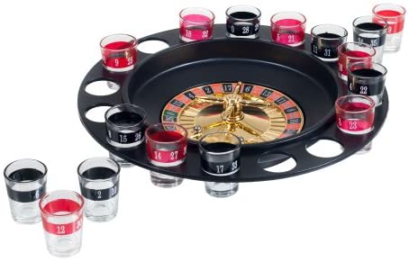 Read more about the article Trademark Shot Roulette Casino Drinking Game