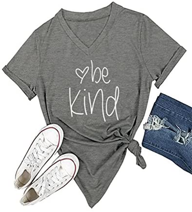 Read more about the article DANVOUY Womens T Shirt Casual Cotton Short Sleeve V-Neck Graphic T-Shirt Tops Tees