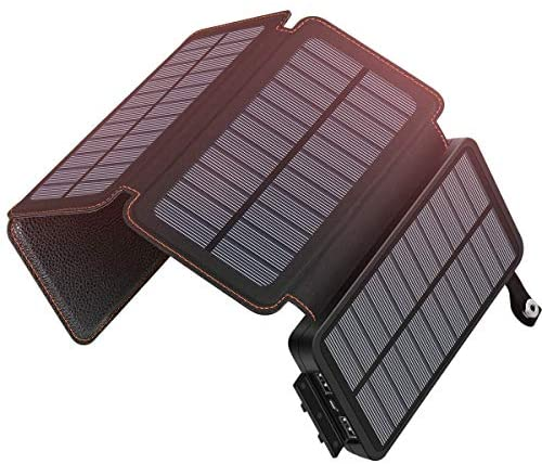 Read more about the article Solar Charger 25000mAh ADDTOP Waterproof Power Bank with 4 Solar Panels Portable Battery Pack for iPhone, ipad, Samsung, Smartphone, ect