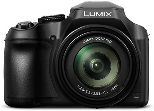 Read more about the article Panasonic Lumix FZ80 4K Digital Camera, 18.1 Megapixel Video Camera, 60X Zoom DC VARIO 20-1200mm Lens, F2.8-5.9 Aperture, Power O.I.S. Stabilization, Touch Enabled 3-Inch LCD, Wi-Fi, DC-FZ80K (Black)