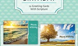 """God's Majesty"" – Birthday Greeting Cards with Bible Scripture – (Box of 12)"
