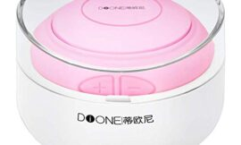 Dione Silicone Facial Cleansing Brush – Electric Face Scrubber Massager for Gentle Exfoliating, Deep Cleanse, Skin Care