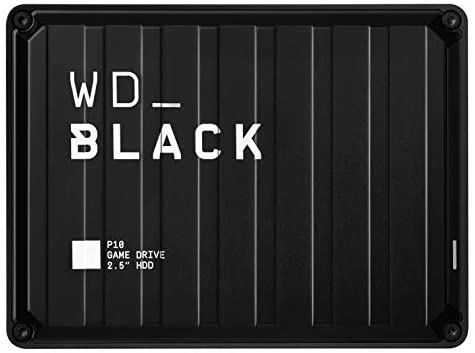 WD Black 2TB P10 Game Drive Portable External Hard Drive Compatible with PS4 Xbox One PC and Mac  WDBA2W0020BBKWESN