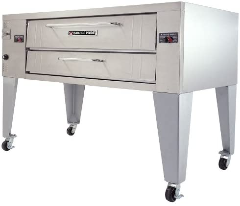 Bakers Pride Y-600BL 78″ Pizza Bake Oven, Deck-Type, Gas, 120,000 BTU