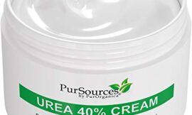 PurSources Urea 40% Foot Cream – No Pumice Stone – Best Callus Remover – Moisturizes and Rehydrates Feet, Knees & Elbows – For Thick, Cracked, Rough, Dead & Dry Skin – 4 oz – 100% Money Back Guarantee