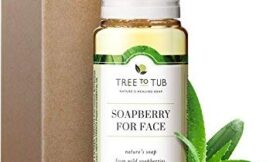 Gentle, Acne Face Wash for Oily Skin by Tree To Tub – pH 5.5 Balanced Refreshing Peppermint Foaming Cleanser for Sensitive Skin. Women and Mens Face Wash from Wild Soapberries, Organic Aloe Vera 4 oz