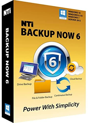 """NTI Backup Now PRO 6 (1-PC) [On Sale!] The """"Best Buy"""" Award-winning Backup Software for Office PCs"""