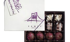 Chocolate Gift Box for Mom – Gift Mom with Fresh Hand-made Chocolate – your Mom Will Thank you Later – Kosher Pareve