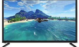 32-inch Large Screen TV, Voice TV with Artificial Intelligence with Ultra-Narrow bezels (Full HD, Display, CD/DVD, Smart TV)(US)