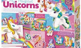 4M My Magical Unicorns DIY Magnets, Sand Art, Suncatcher Craft Kit