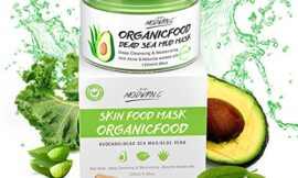Organic Avocado Vegan Dead Sea Mud Mask Nourishing Hydration Deep Cleansing Relaxing & Hydrating Facial Treatment Blackhead Remover Smooth Skin Green Tea Natural Healing Clay Mask for Face & Body