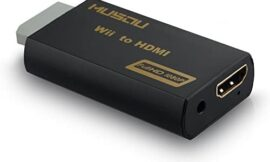 Musou WII TO HDMI Converter 720P 1080P HD Output Upscaling Adapter,black
