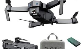 Zlolia GPS Drone with 4K HD Camera Transmission FPV Live Video Foldable Quadcopter, Drone for Adults with Brushless Motor, Auto Return Home, Follow Me, 15 Minutes Flight Time