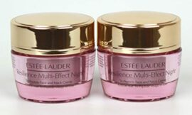 Pack of 2 x Estee Lauder Resilience Multi-Effect Night Tri-Peptide Face & Neck Creme 0.5 oz each Unboxed
