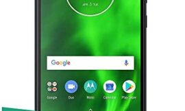 Motorola Moto G6 (64GB, 4GB RAM) 5.7″ Full HD+ Display, Dual SIM 4G LTE (GSM Only) Factory Unlocked Smartphone – International Model XT1925-13 (Indigo Black) (Renewed)