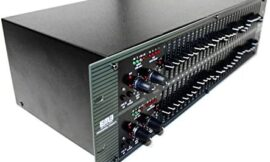 EMB Professional Sound System EB831EQ Graphic Equalizer/Limiter with Type 3 NR for Home/DJ Performance/Club/Studio/Stage/Show/Entertainment