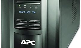 APC 750VA Smart UPS with SmartConnect, SMT750C Sinewave UPS Battery Backup, AVR, 120V, Line Interactive Uninterruptible Power Supply