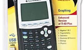 TI-84 PLUS GRAPHING CALCULATOR (Renewed)