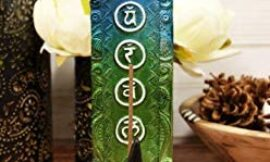 Ebros Gift Colorful Rainbow Wiccan Spiral Goddess Divine Feminine Incense Stick Burner Figurine with 7 Chakra Zone Colors Yoga Pose Metaphysical Natural Shaman Decorative Accent (Upright Pose)