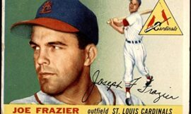 1955 Topps # 89 Joe Frazier St. Louis Cardinals (Baseball Card) Dean's Cards 1.5 – FAIR Cardinals