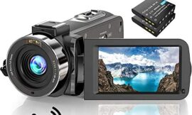 """Video Camera Camcorder FHD 1080P 30FPS 36MP IR Night Vision YouTube Vlogging Camera Recorder 3.0"""" Screen 16X Digital Zoom Camcorder with Remote and 2 Batteries"""