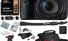 Canon PowerShot SX540 HS with 50x Optical Zoom and Built-in Wi-Fi, Lexar 32 GB U3 Memory Card, Tripod, Spare Battery, Camera Bag and Accessory Bundle