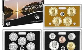 2015 Mint Proof Set 2015 Silver Proof Set 14 Deep Cameo Coins SW2 Very Good