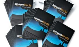 Amazon.com $10 Gift Cards, Pack of 50 with Greeting Cards (Amazon Kindle Design)
