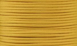 PARACORD PLANET 10 20 25 50 100 Foot Hanks and 250 1000 Foot Spools of Parachute 550 Cord Type III 7 Strand Paracord (Mustard Yellow 1000 Foot Spool)