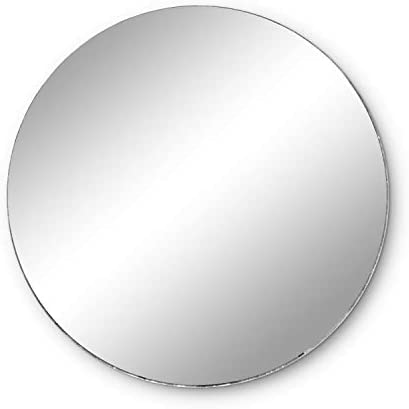 Super Z Outlet Round Mirror Wedding Table Centerpieces, 10 Pieces, 6″ Inches
