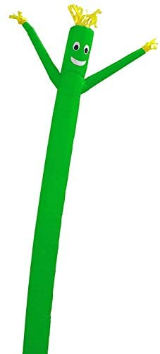 Skyerz Wacky Waving Inflatable Tube Man. Arm Flailing Advertising Sky Air Puppet – 20 Feet, Green (Blower Not Included)