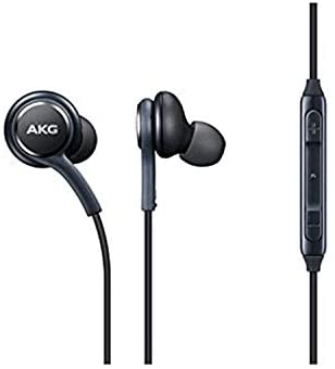OEM Stereo Headphones w/Microphone for Samsung Galaxy S8 S9 S8 Plus S9 Plus Note 8 – Designed by AKG – 100% Original