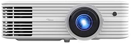 Optoma UHD52ALV True 4K UHD Smart Projector   Super Bright 3500 Lumens   HDR10 + HLG Support   Works with Alexa and Google Assistant   Voice Command   Support IFTTT, White
