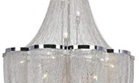 CWI LIGHTING 5480P22C 10 Light Down Chandelier with Chrome Finish