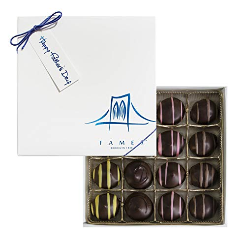 Father's Day Chocolate Candy Gift Box, Fathers Day Chocolates, 16 Count