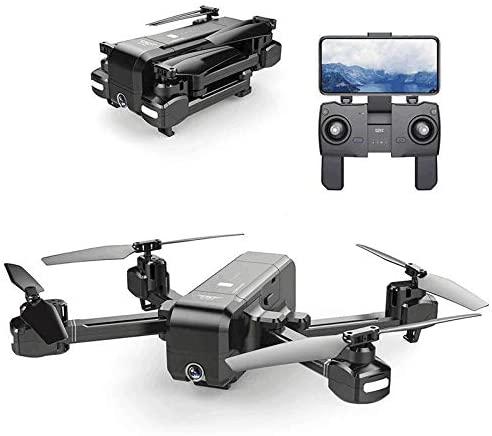 AKDSteel S-JRC Z5 5G WI-FI F-PV with 1080P Camera Double GPS Dynamic Follow RC Drone Quadcopter Black 5G 1080P Gift Toy