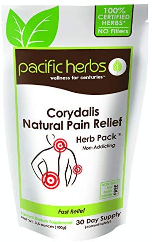 Pacific Herbs Corydalis Natural Pain Relief Herbs