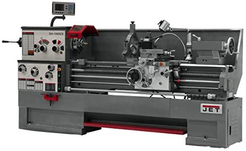 Jet 321960 GH-1860ZX 18-Inch Swing by 60-Inch between Centers 230/460-Volt 3 Phase Large Spindle Bore Metalworking Lathe