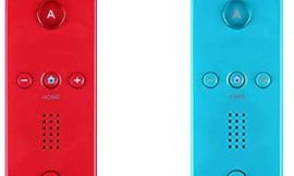 Yosikr Wireless Remote Controller for Wii Wii U – 2 Packs Red and Blue