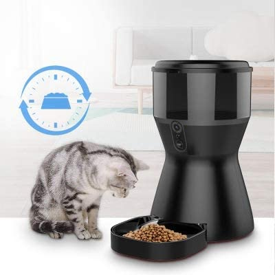 Xiao Tian Automatic Dog Feeder 4L Smart Pet Cat Feeder Food Dispenser Bowl with HD Camera&App for Smart Phone WiFi Remote View