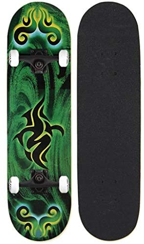 Skateboards, 31-inch Full Skateboard for Teen Boys and Girls Skateboard