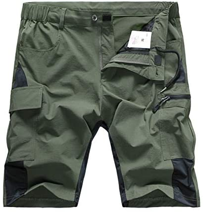 Wespornow Men's-Hiking-Shorts Lightweight-Quick-Dry-Outdoor-Cargo-Casual-Shorts for Hiking, Camping, Travel, Fishing