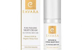 Organic Retinol Night Cream – Anti Aging Face Cream – Natural Anti Wrinkle Skin Care with Shea Butter, Aloe Vera, Honey, Jojoba Oil and Hyaluronic Acid
