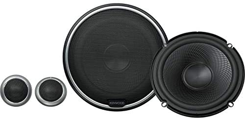 Kenwood KFC-P710PS 560W Max (160W RMS) 6.5″ Performance Series 2-Way Component Car Speakers