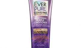 L'Oreal Paris Hair Care EverPure Sulfate Free Brass Toning Purple Conditioner for Blonde, Bleached, Silver, or Brown Highlighted Hair, 6.8 Fl. Oz