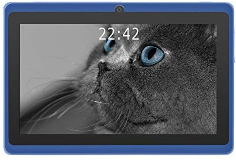 2020 New – YUNTAB 7 inch Android 8.0 Tablet, 1.5 Ghz Quad Core CPU, with WiFi, 1GB RAM, 16GB ROM, 1024×600 HD Touch Screen, Pre-Loaded Google Play Store & Games, Dual Camera(Blue)